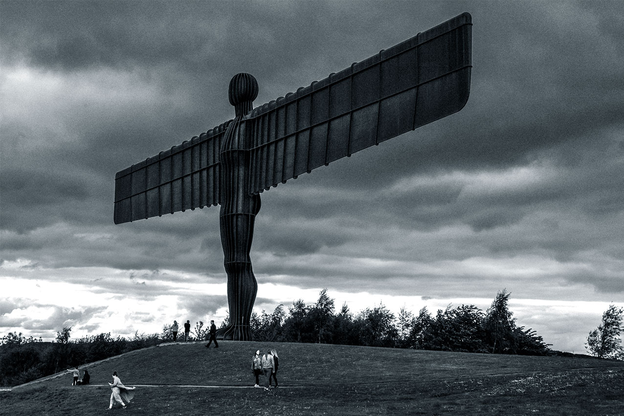 Angel of the North, near Newcastle.