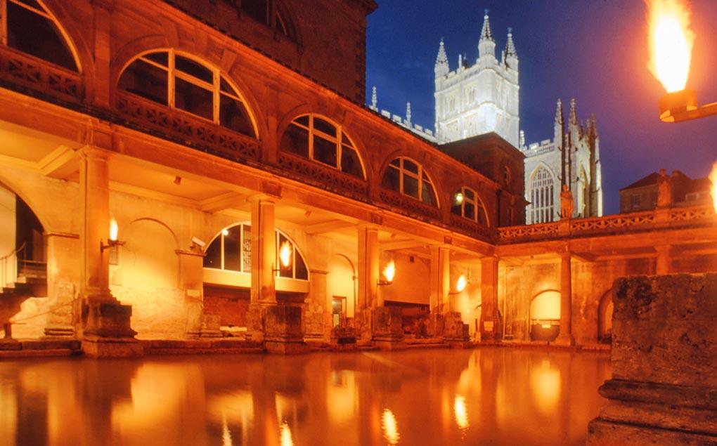 The Roman Baths, Bath.