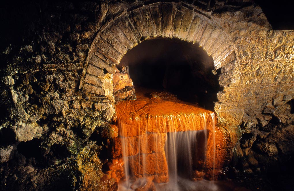 Roman Baths overflow, Bath.