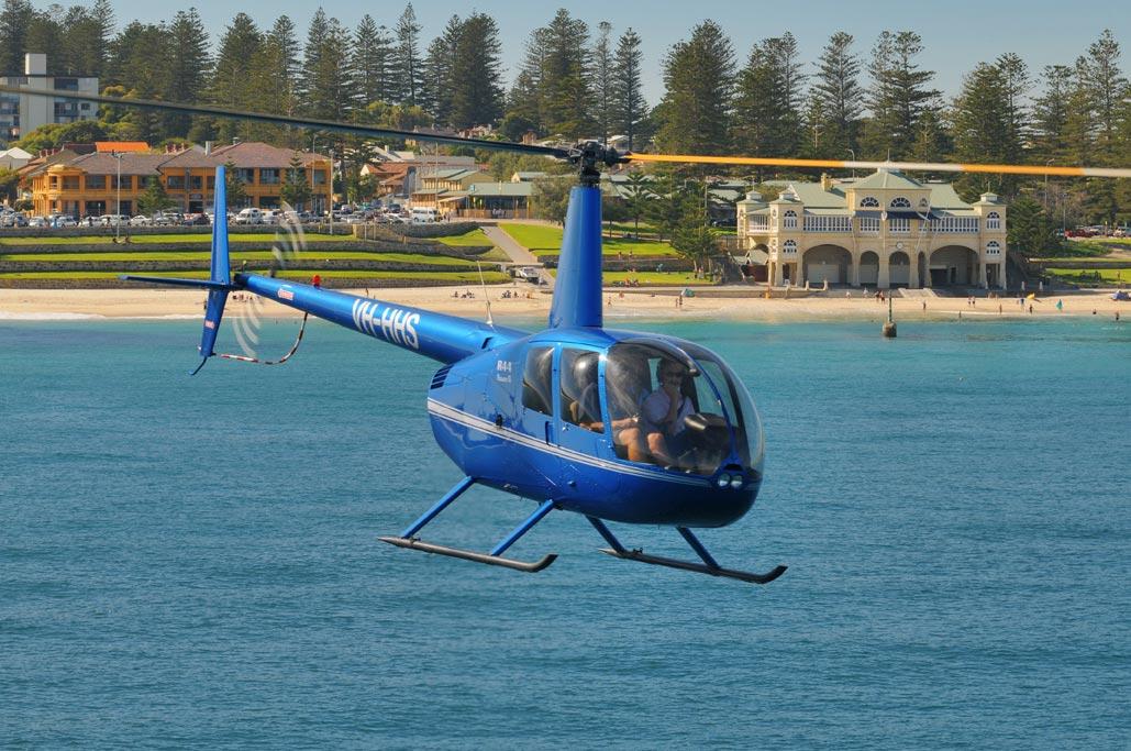 Heliflite, Western Australia