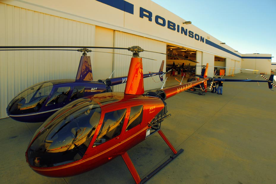 Robinson factory, LA, USA
