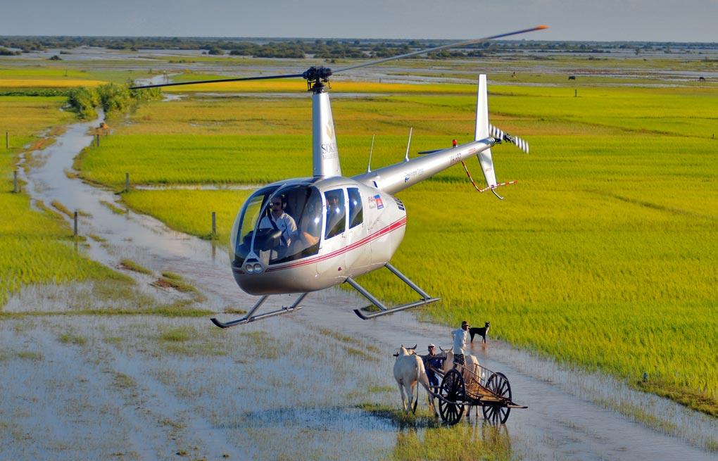Sokha Helicopters, Cambodia