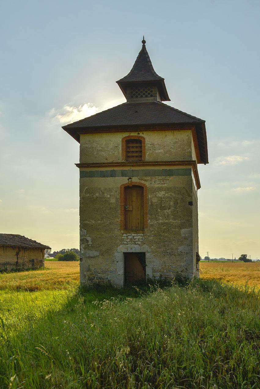 Freestanding Pigeonnier near Montricoux