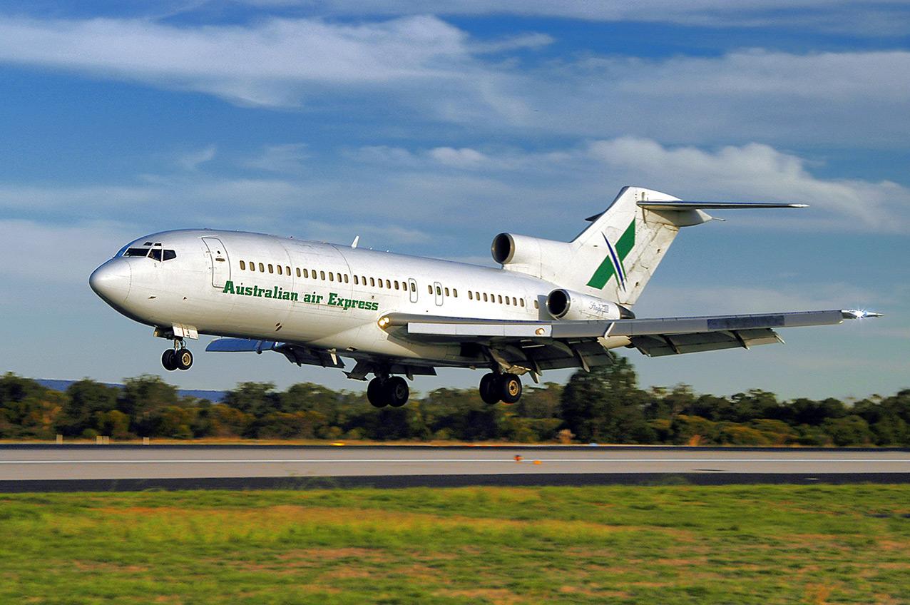 Australian Air Express Boeing 727