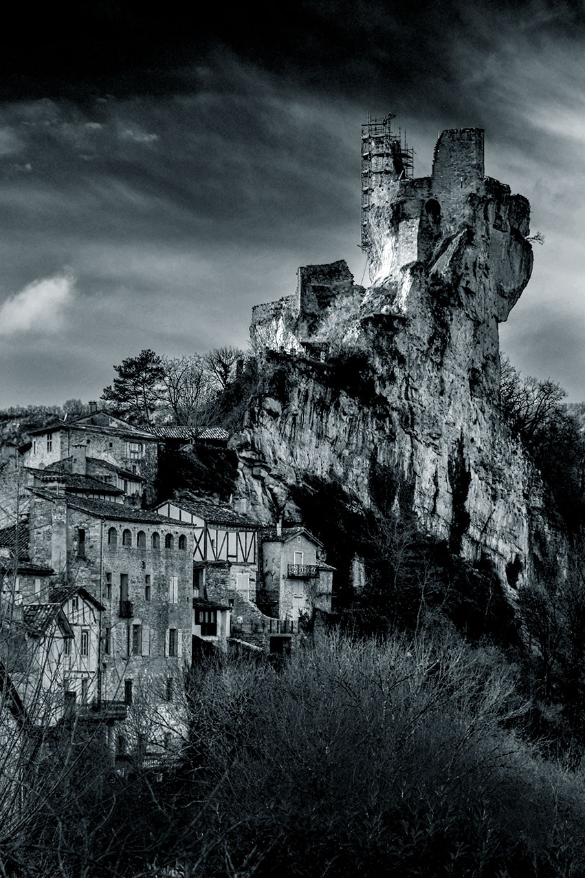 The ruins of Chateau Penne
