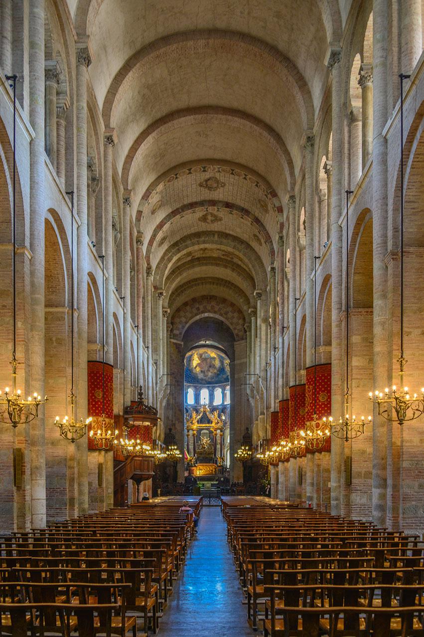 St Sernin, Toulouse