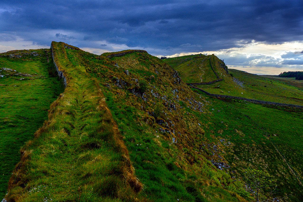 Hadrians Wall, Yorkshire UK