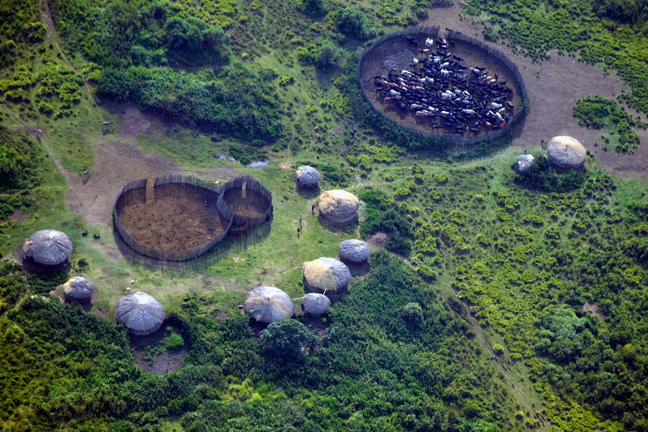 Massai boma, Tanzania
