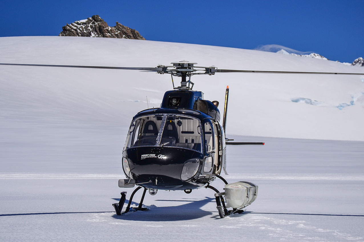 Behind the scenes shot of the AS350 cameraship, by Jude Brazendale