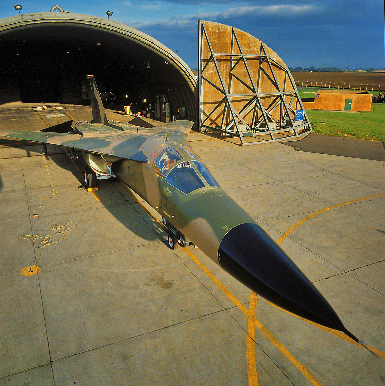 F-111E, USAF
