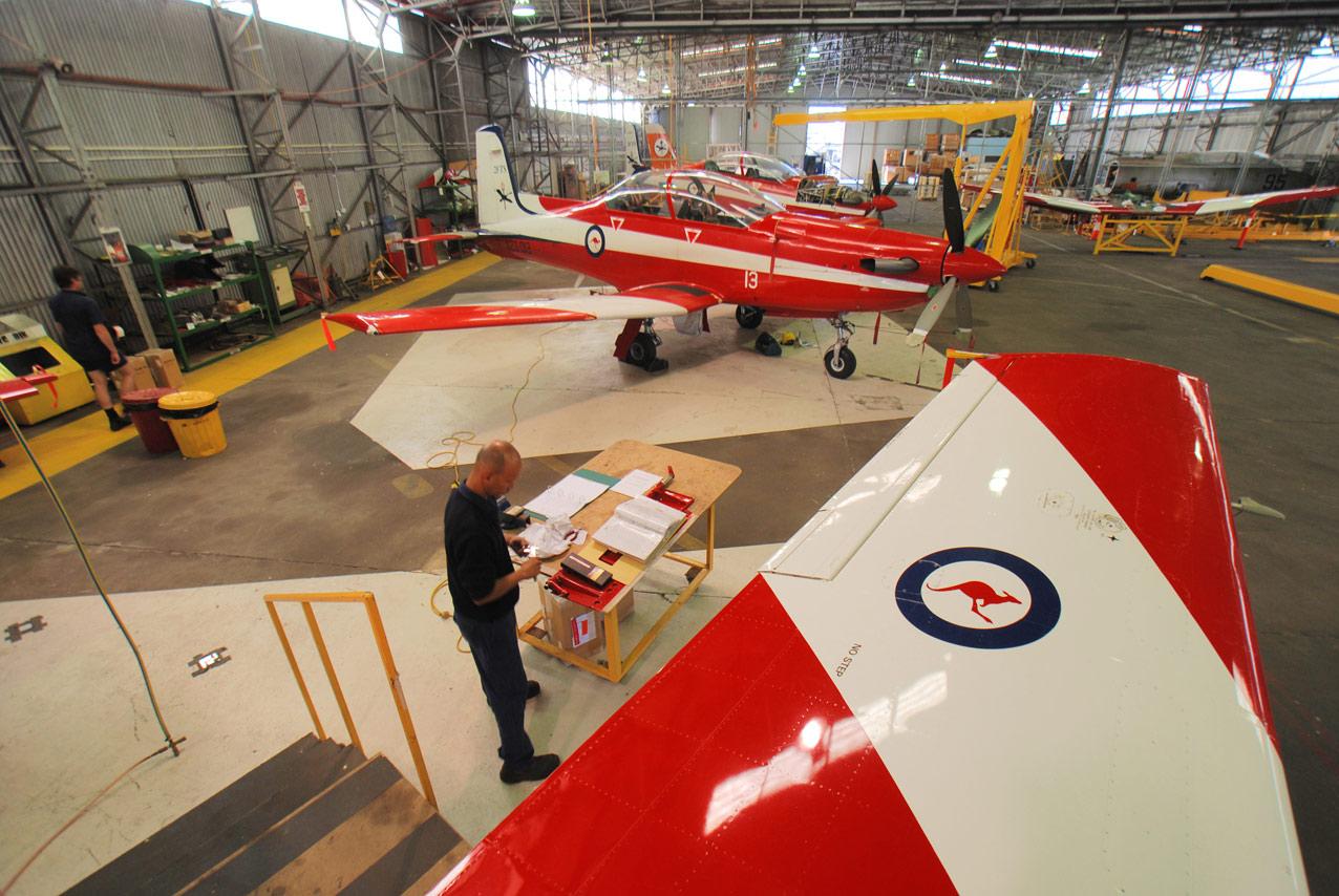 Pilatus PC9, RAAF Pearce, Western Australia