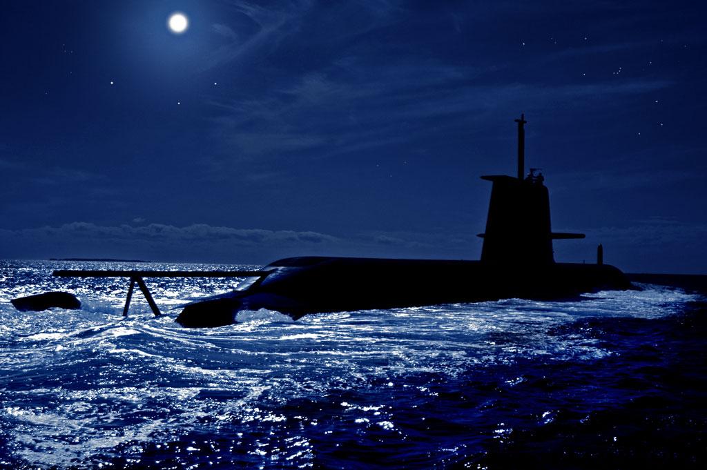 HMAS Rankin at sea