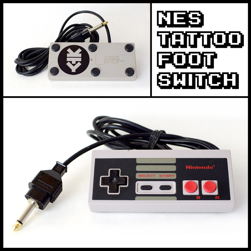 NES Tattoo Foot Switch