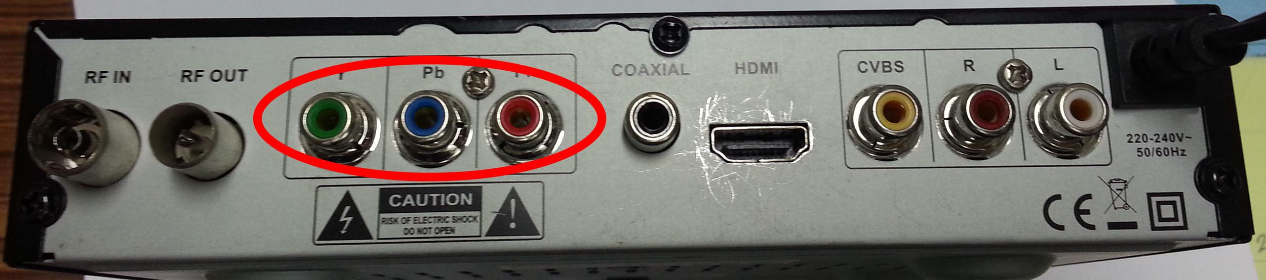 BETA HD-T2 First Gen. (สังเกตุว่ามีช่อง component เขียว-ฟ้า-แดง อยู่ด้านหลัง)