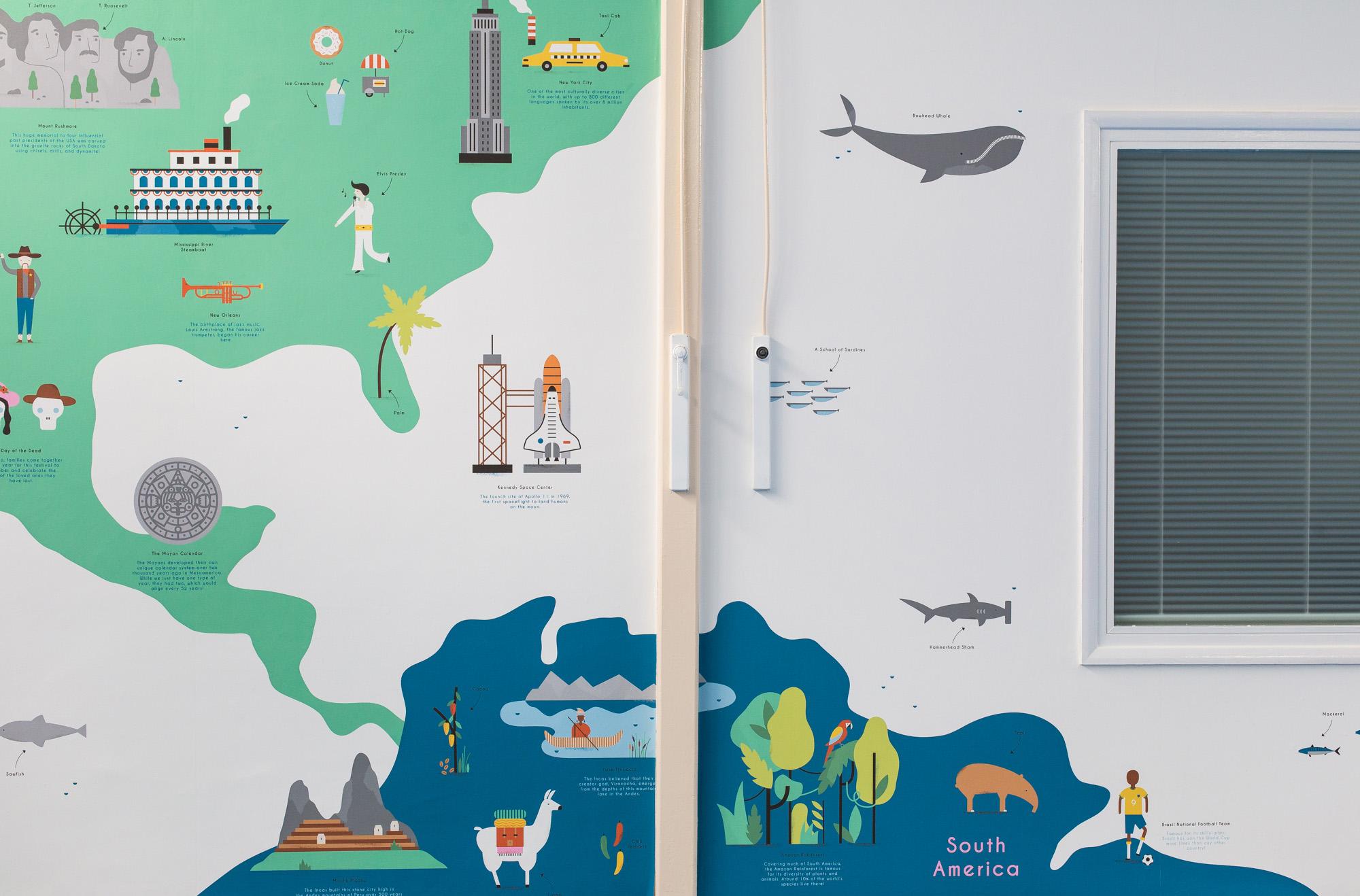 hannahalice-illustration-spacedesign-world-map-grazebrookprimaryschool-mural-northamerica-southamerica-wallpaper.jpg