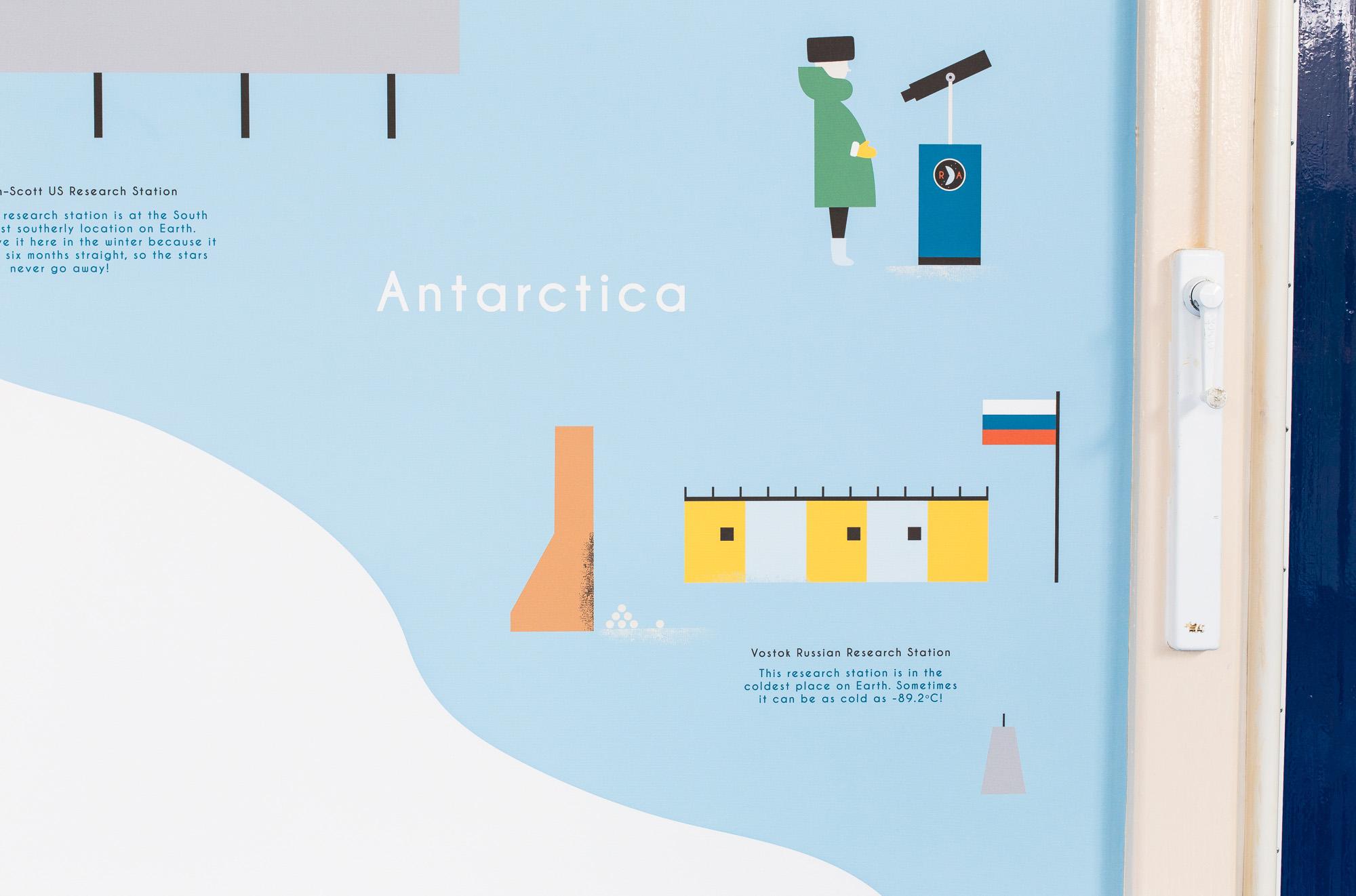 hannahalice-illustration-spacedesign-world-map-grazebrookprimaryschool-mural-antarctica-wallpaper.jpg