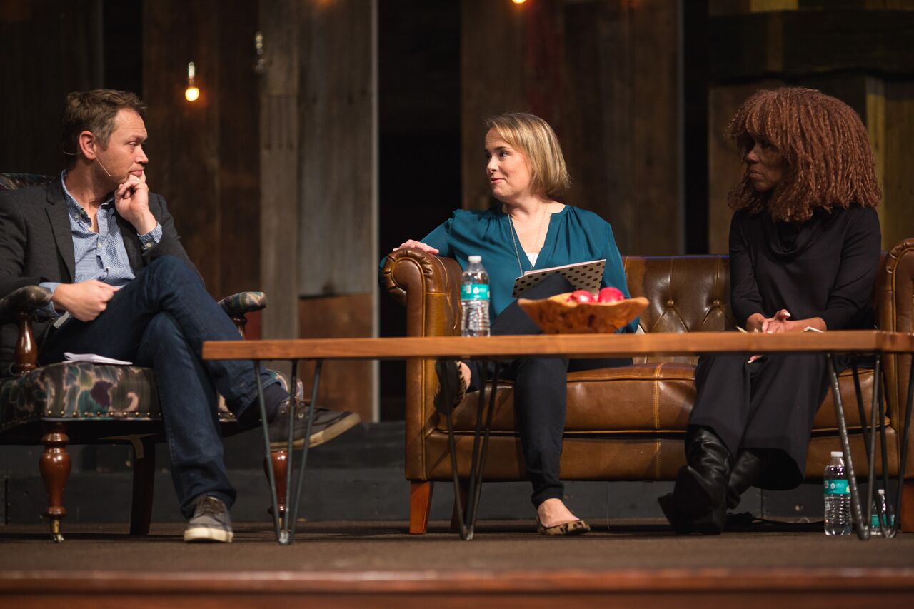 Andrew Peterson, Sissy Goff, and Brenda Haywood