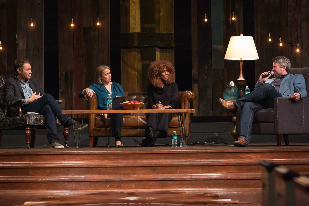 Andrew Peterson, Sissy Goff, Brenda Haywood, and Russ Ramsey