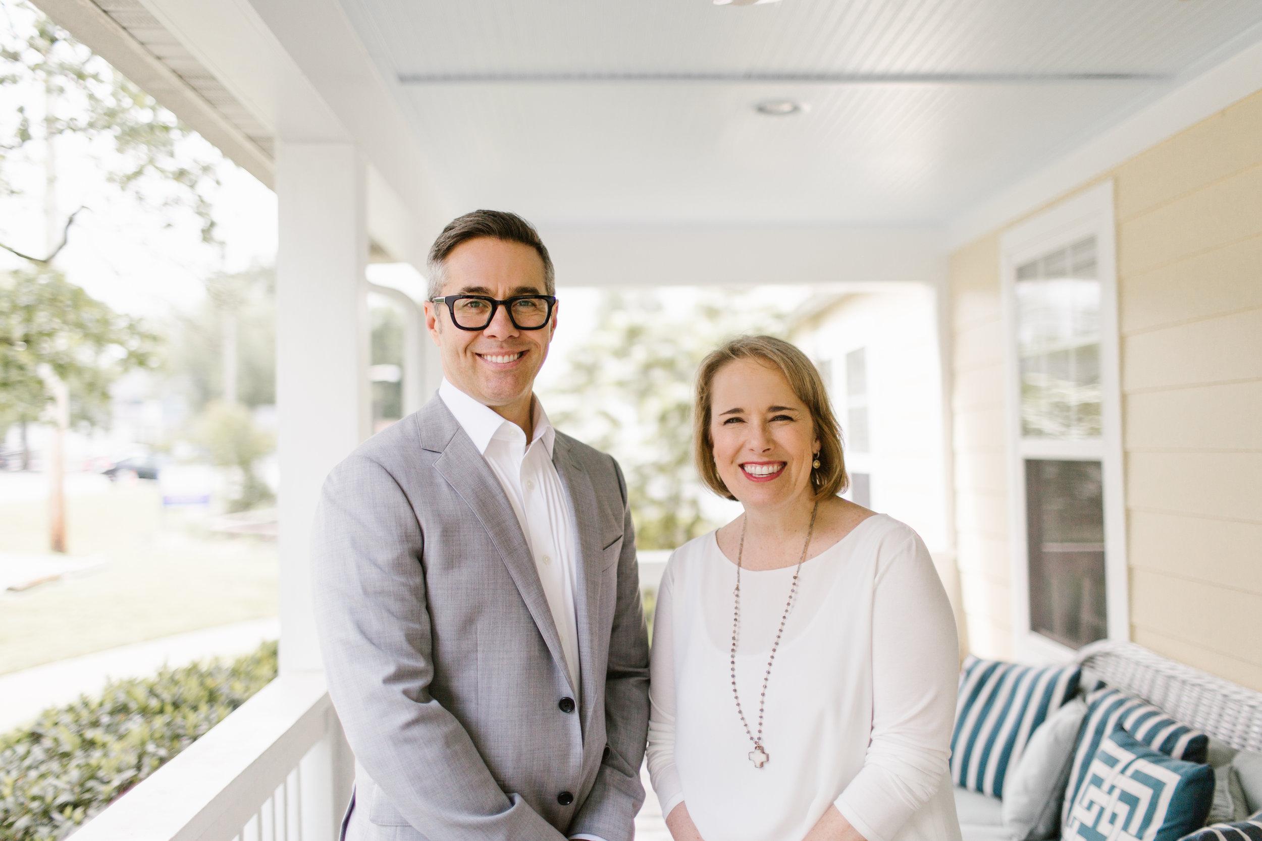 David Thomas and Sissy Goff Horizontal Press Photo