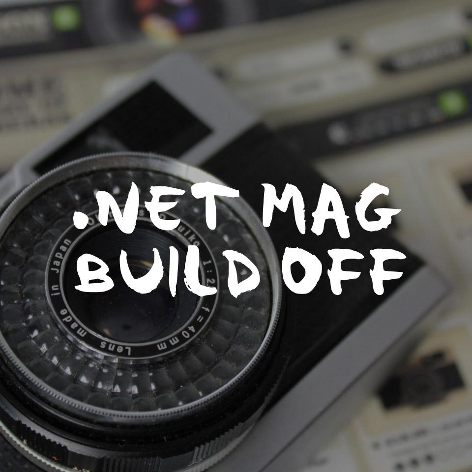 .NET MAGAZINE - BUILD OFF