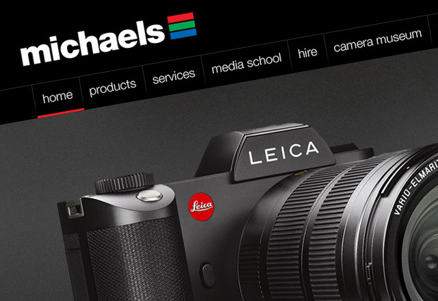MICHAELS CAMERA WEBSITE CONCEPT   A few months ago, I had the idea to redesign the Michaels Camera website - the original site had been the same for a long time and as an avid fan of the shop I wanted to design a site that matched the community that shops there. READ MORE