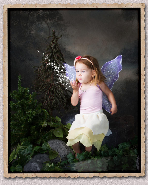 Fairy blowing Stars