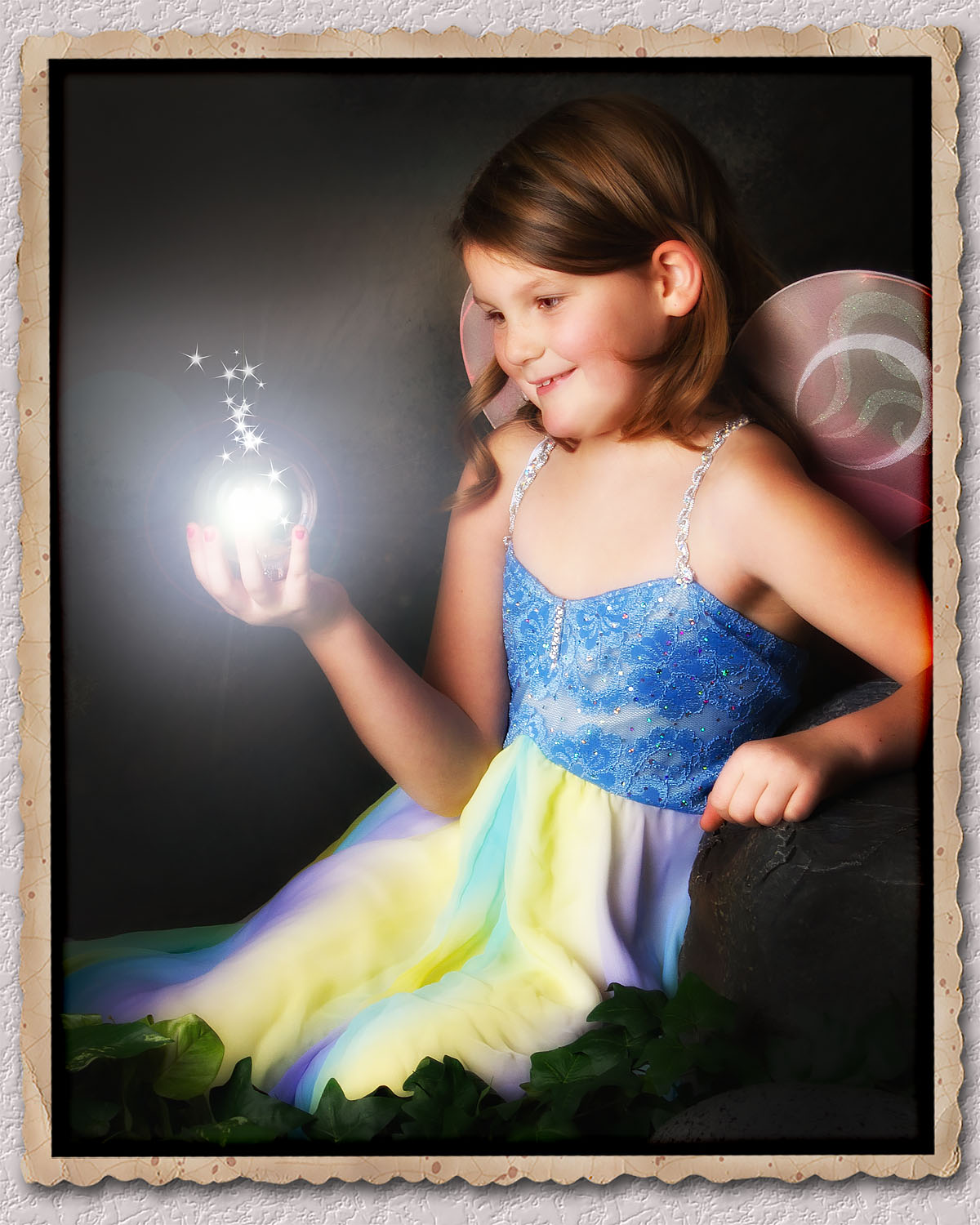 Fairy with Sphere