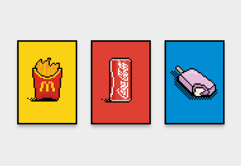 Pixel - Cómpralos individuales o en grupo