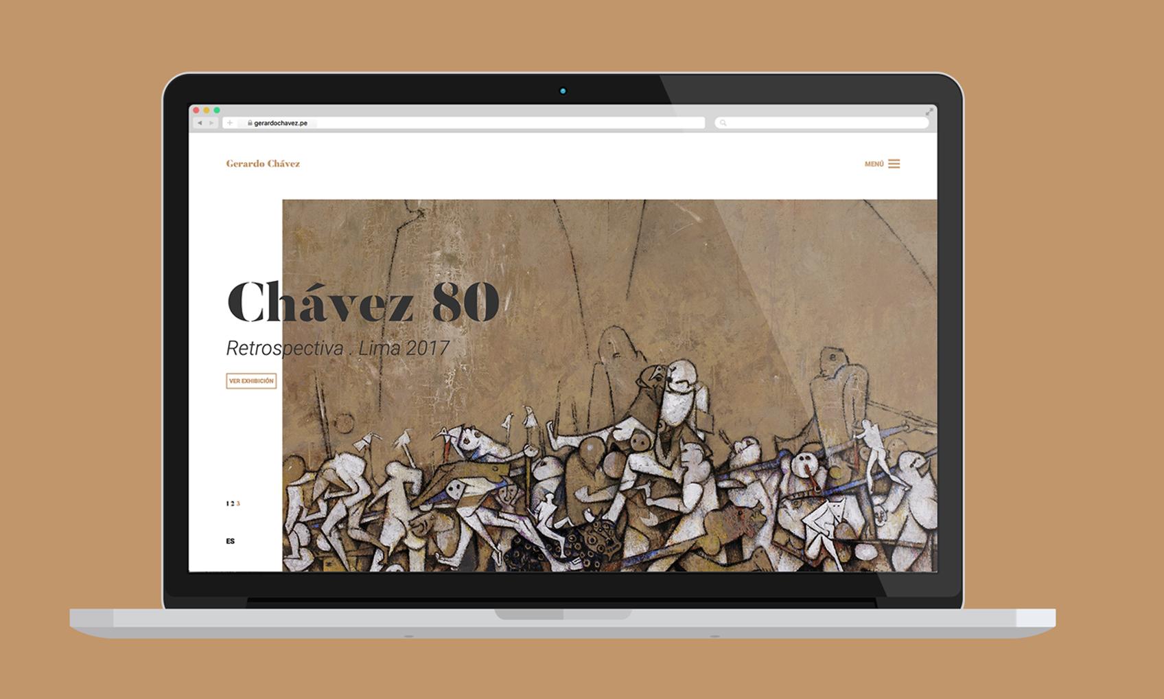 Gerardo Chávez - Una web para celebrar una vida