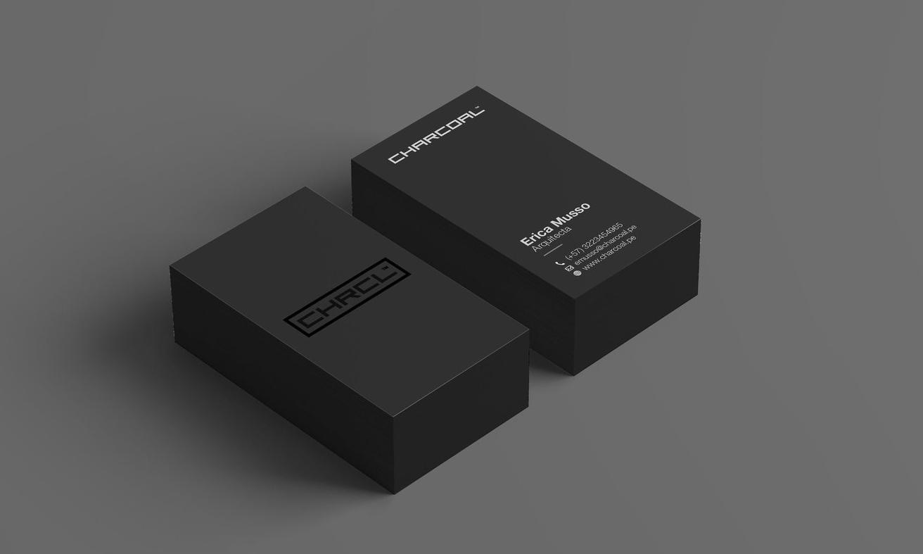 Charcoal - El encanto del diseño está en la síntesis