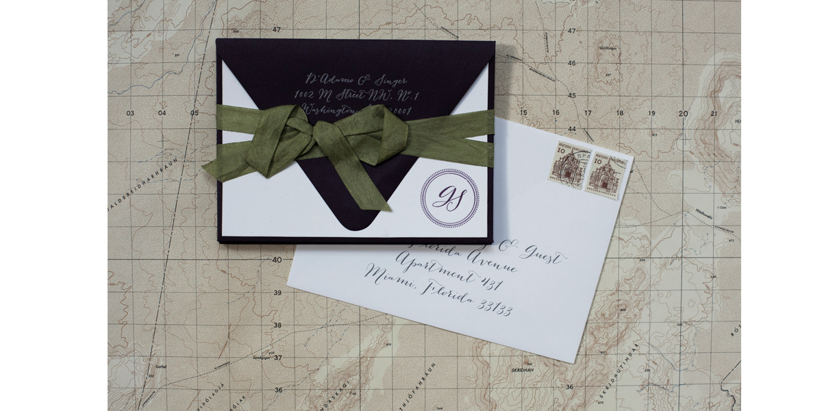 chicago letterpress wedding invitations postscript paper