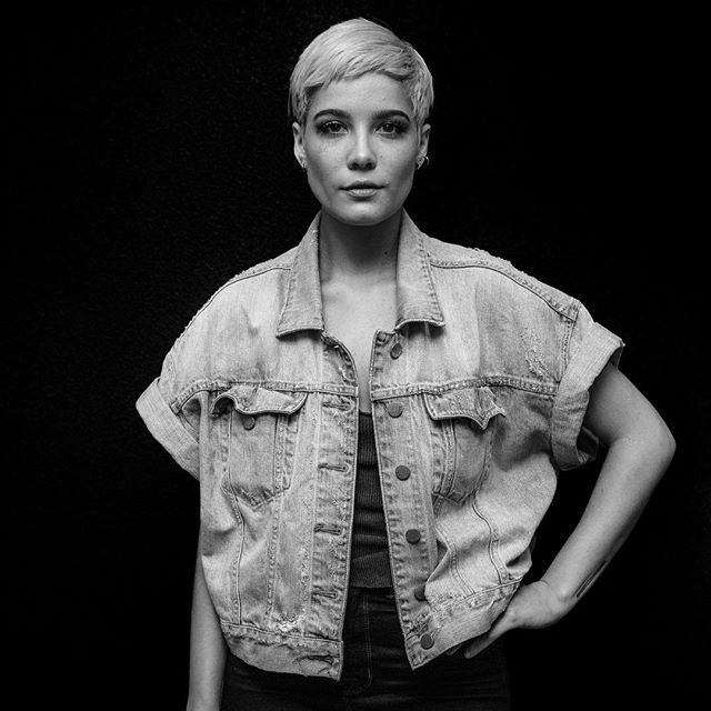 Portrait of @iamhalsey during her radio tour back in 2015. She was just getting started, and was incredible to work with. Can't wait to see her perform tonight in Nashville. #halsey #hopelessfountainkingdom #nashville