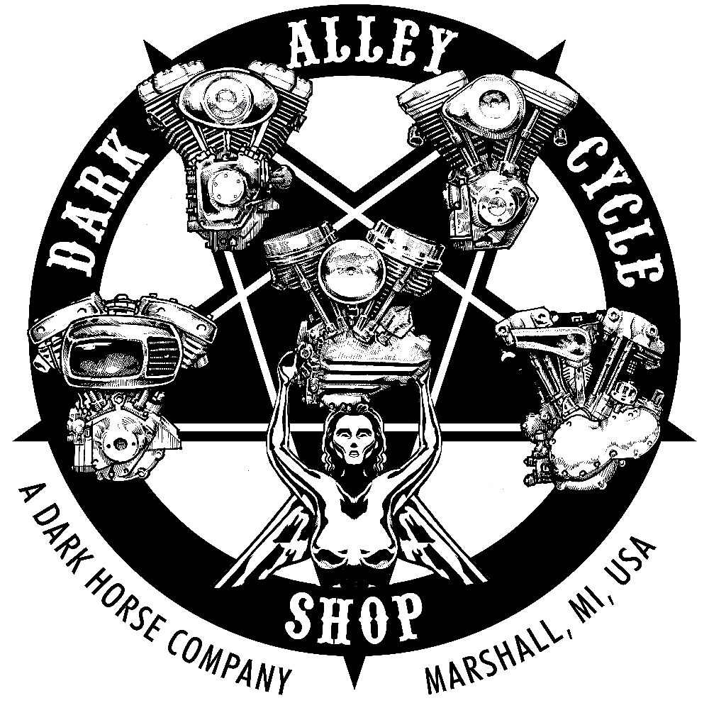 Dark Alley Cycle Shop — Dark Horse Brewing Co