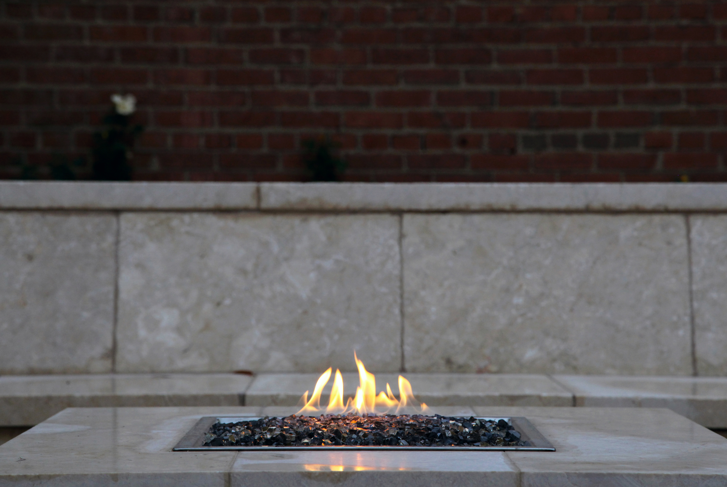 Project Location: Washington, DC (Georgetown)  Completion: Summer 2015  General Contractor: OldeTowne Historic Landscape  Primary Material Palette: Crema Eda marble, brick, cedar, copper  Photos By: Moody Landscape Architecture