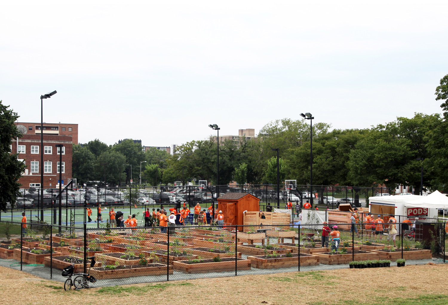 Project Location:  Lansburgh Park, DC  Completion:  Summer 2013  Images By:  Moody Landscape Architecture (unless noted otherwise)