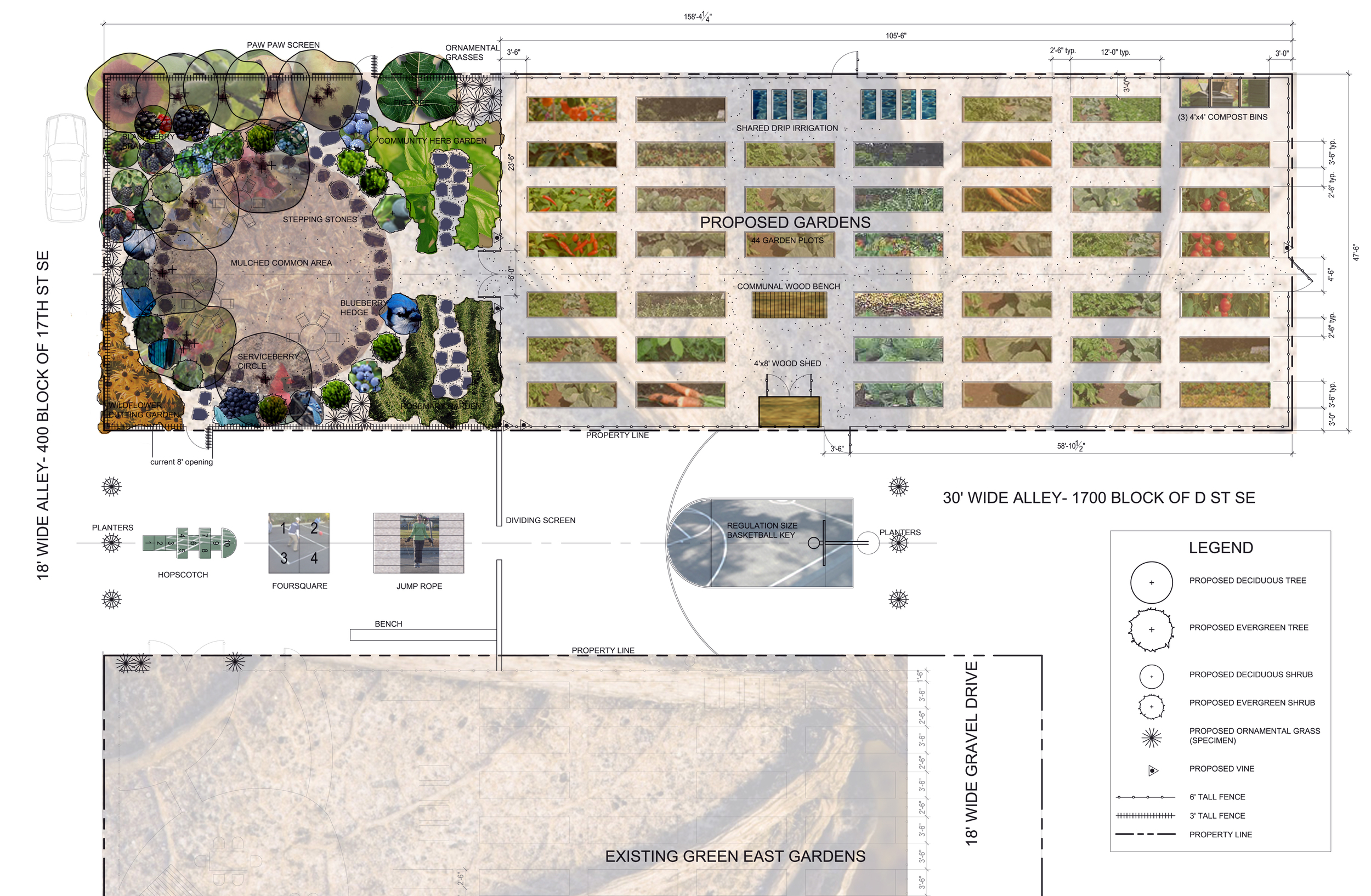 Project Location: Capitol Hill,DC  Completion: Summer 2010  Images By: Moody Landscape Architecture