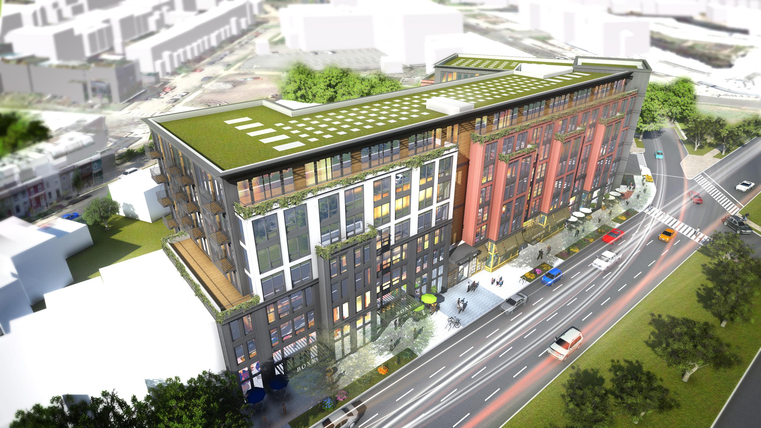 Project Location:  Washington, DC (Capitol Hill)   Project Developer:  CAS Riegler   Project Architect:  Antunovich Associates   Image By:  Antunovich Associates