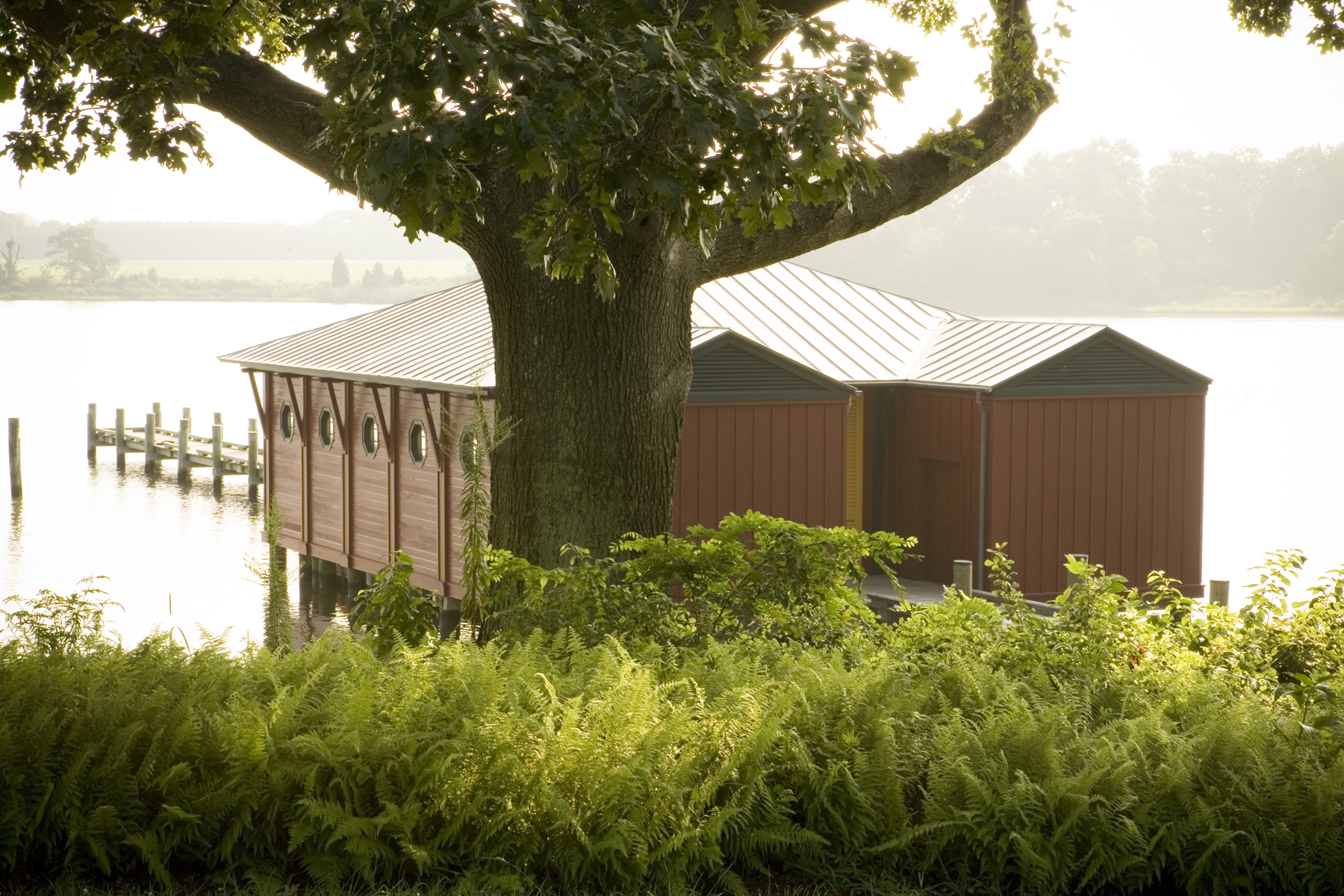 Project Location: Wye Island, Maryland  Completion: 2004  Project Architect: Neumann Lewis Buchanan  Photos By: Victoria Cooper  Awards: Philip Trammell Shutze Award, Institute of Classical Architecture, 2010