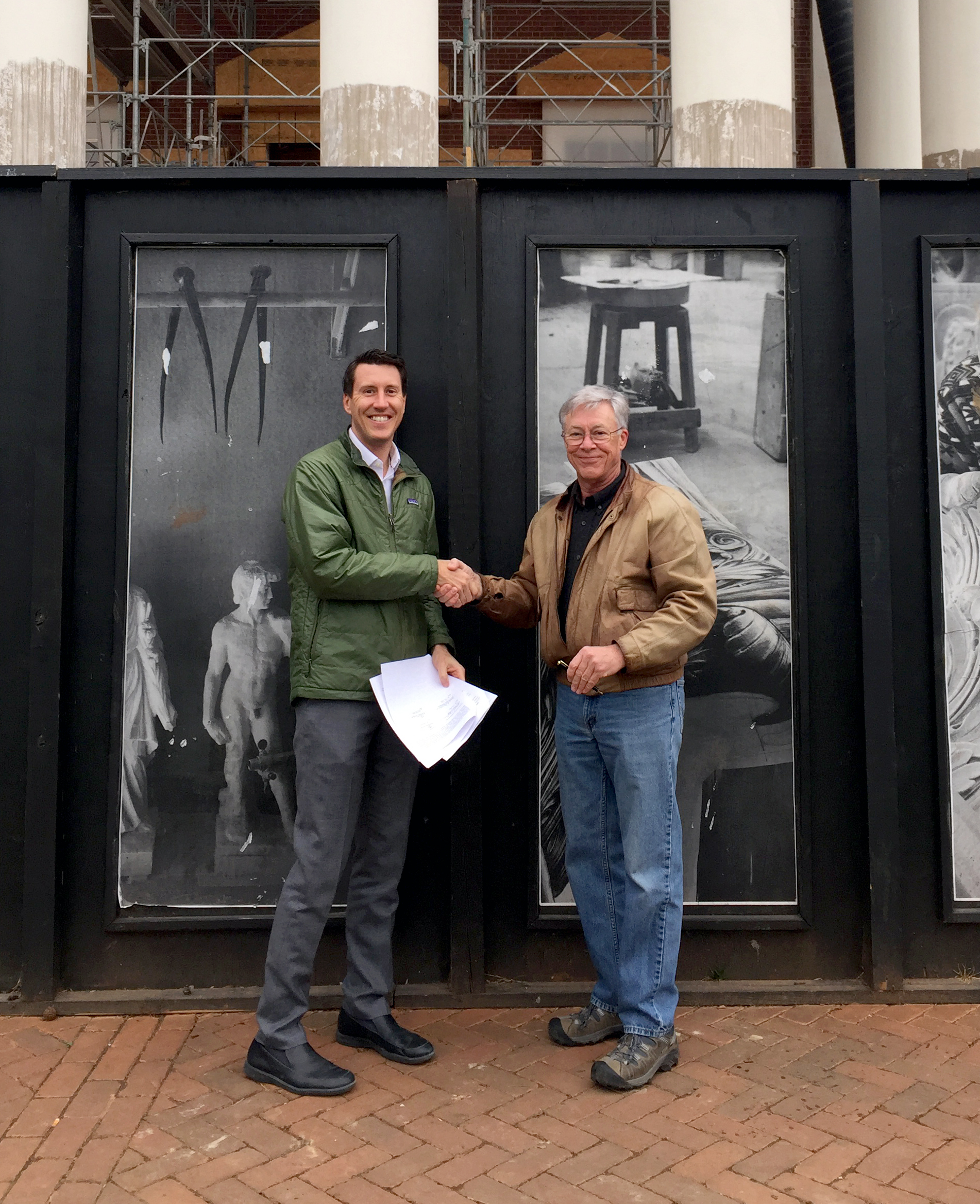 2016-  Ryan & Jay formalize Moody Graham at the Rotunda at University of Virginia