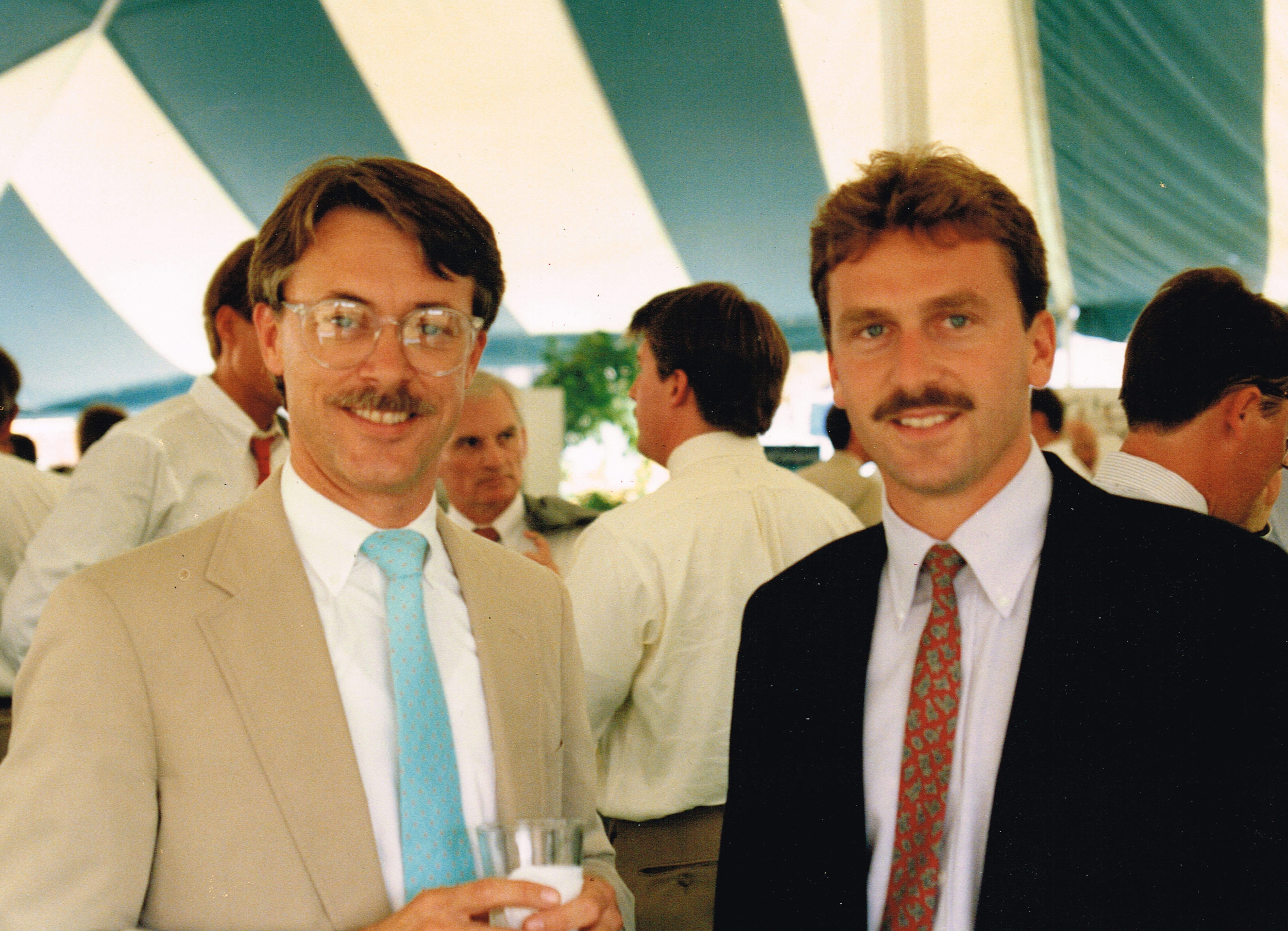 1989-  Groundbreaking for a GLA project