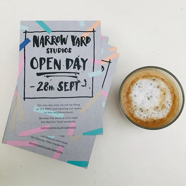 Quick coffee and it's off to get the word out about Saturdays open day! I'll be spending the week getting all sorts of delights ready to sell and discuss with any interested visitors. It's gonna be great!