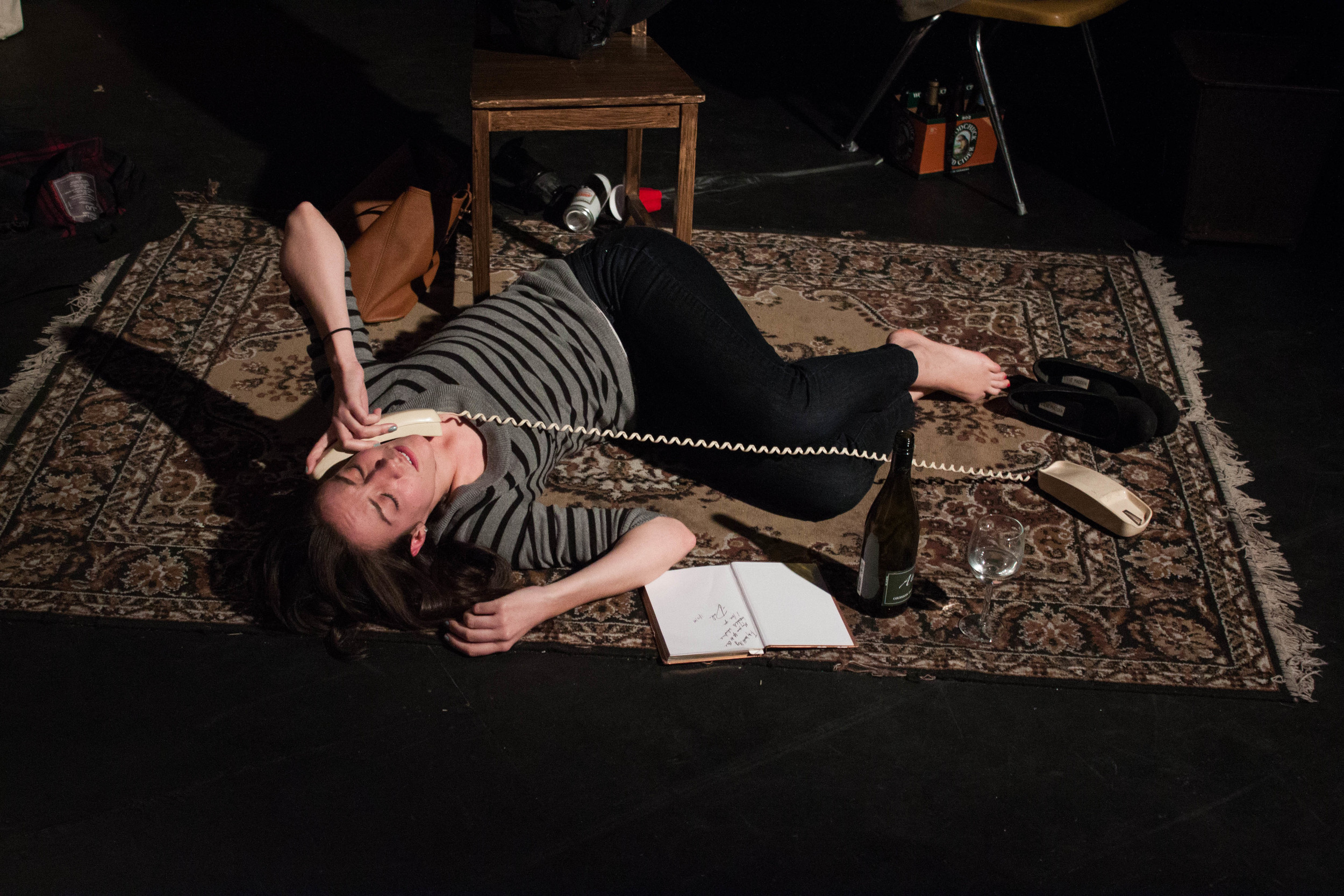 Meg's drunk dial to Cameron
