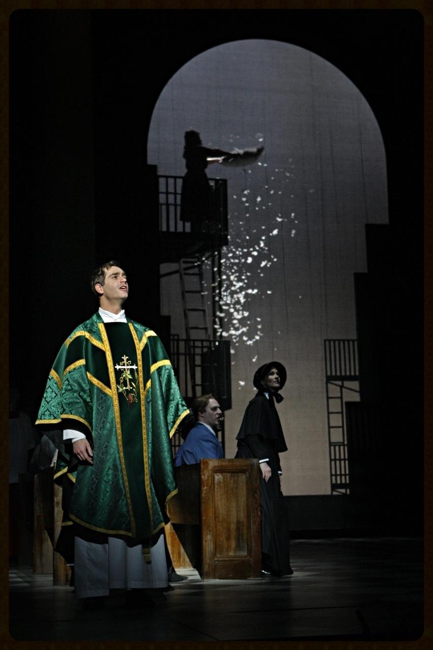 Baritone Matthew Worth in world premiere of Doubt at Minnesota Opera  © Michal Daniel
