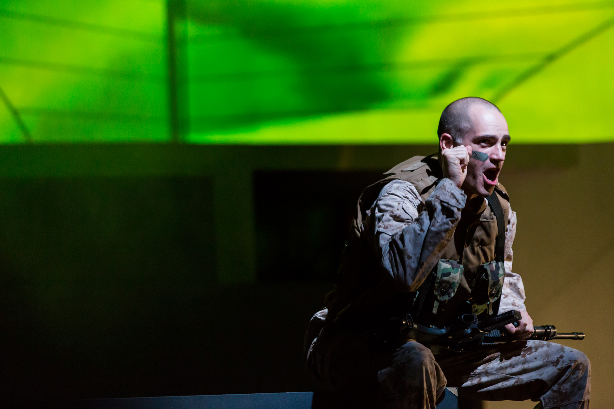 <i>Soldier Songs</i> / Atlanta Opera / 2015