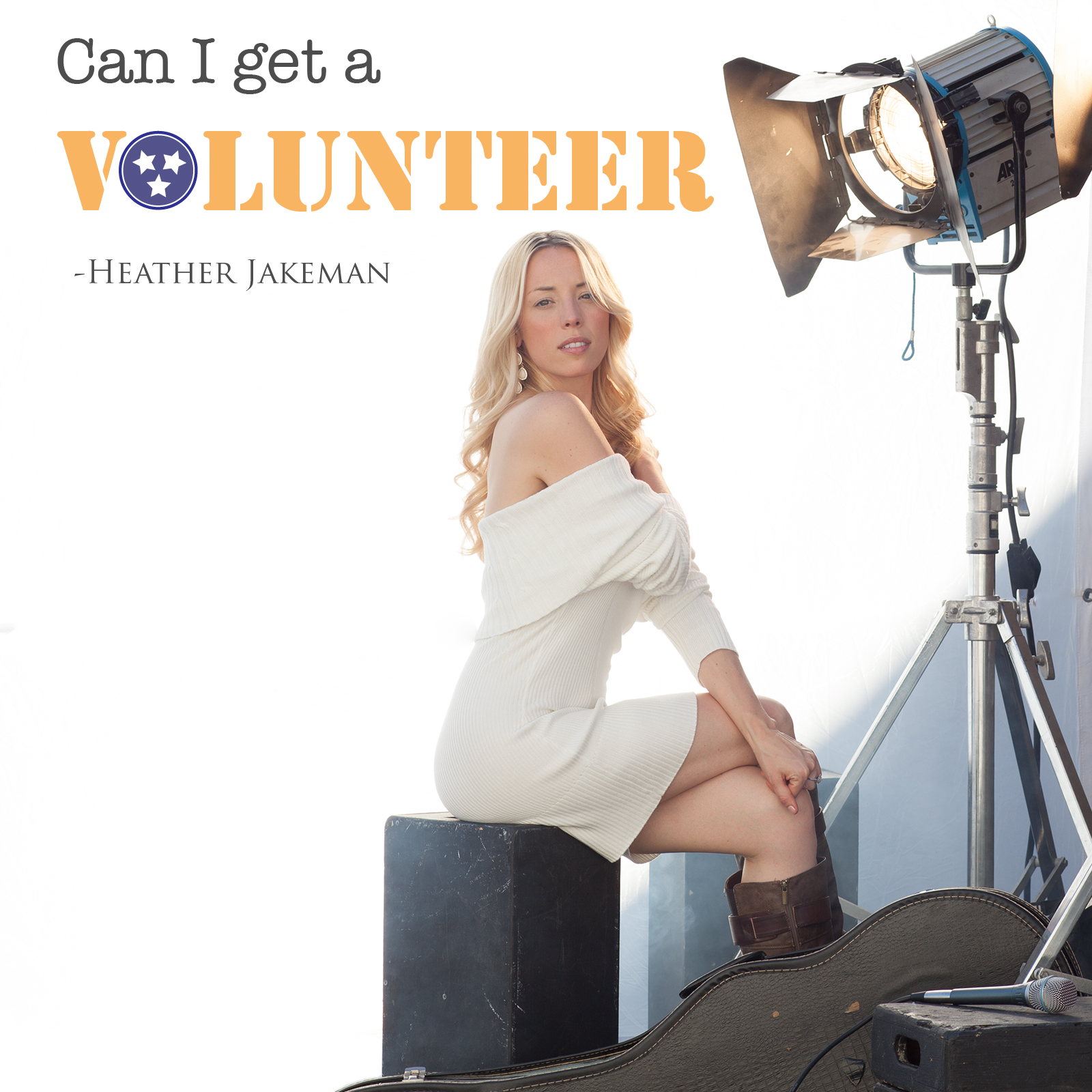 Can I Get a Volunteer Cover