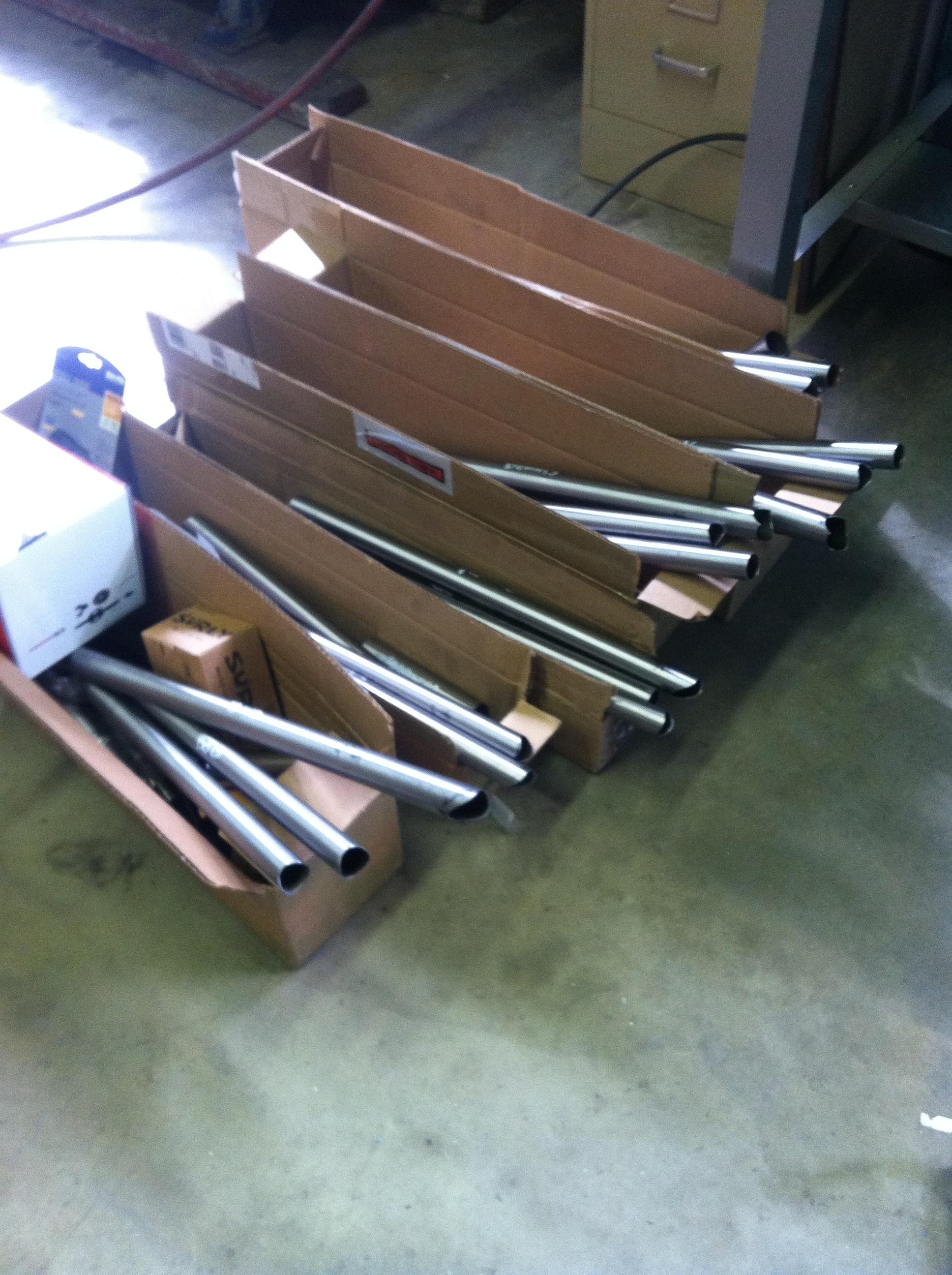 Six tubesets