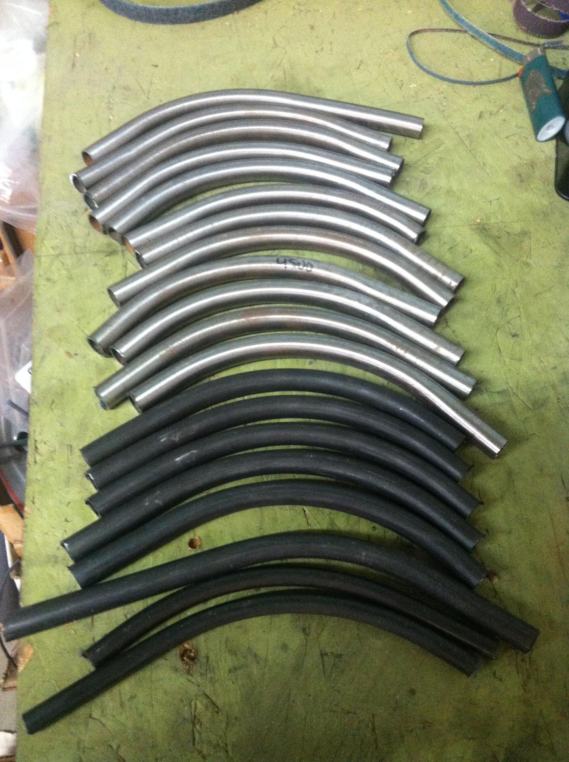 Bent tubes!