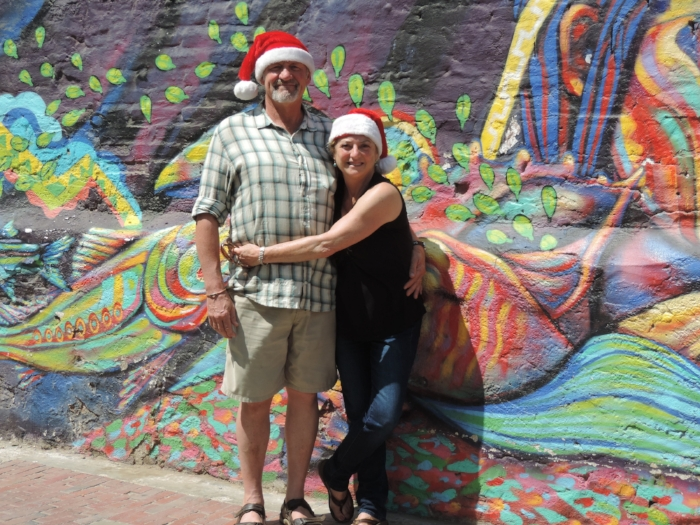 Happy Holidays from cindy and jimbo!