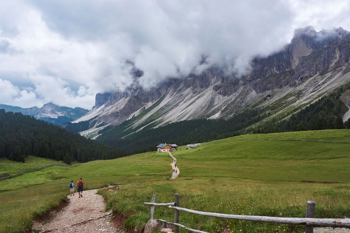 December, 2016: Hiking the Dolomites