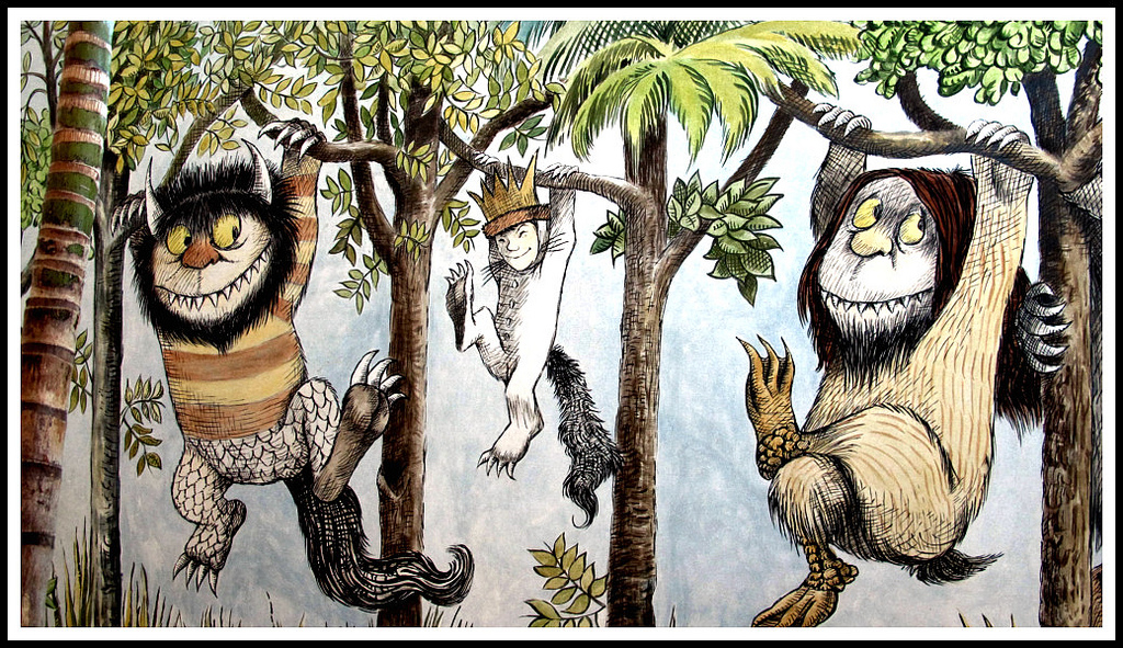 - (uploaded from Flickr, drawing by Maurice Sendak)